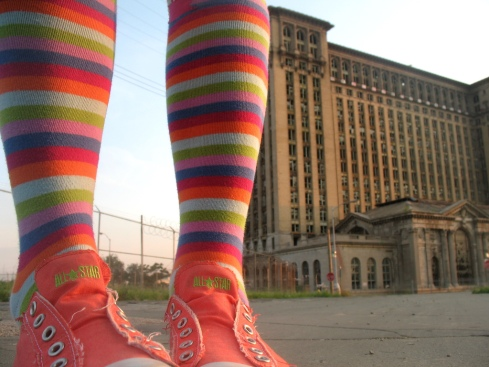 @ michigan central station di artsy_T http://www.flickr.com/photos/artsyt