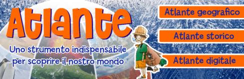 Banner per il lancio dell'Atlante